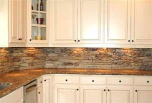 Stone Backsplash Ideas For Kitchen Rustic Backsplash Natural Stone Hmmm Backsplash