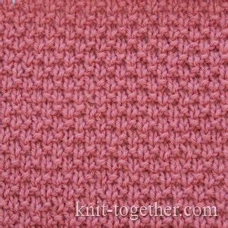knitting plain stitch knit together simple stitch pattern 2 with needles