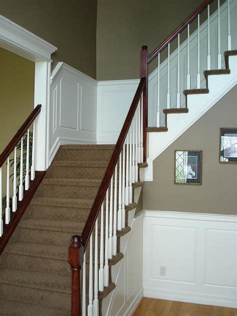 Wainscoting Staircase Ideas Wainscoting Wainscoting Ideas Mdf Raised Panel