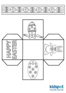 easter box templates free easter egg basket template free
