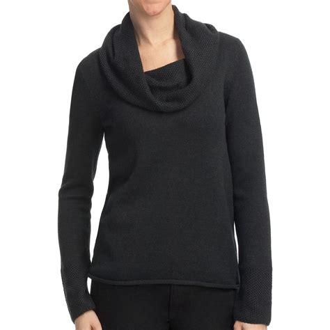 drape neck sweater lilla p tuck stitch drape neck sweater 7 gauge cotton