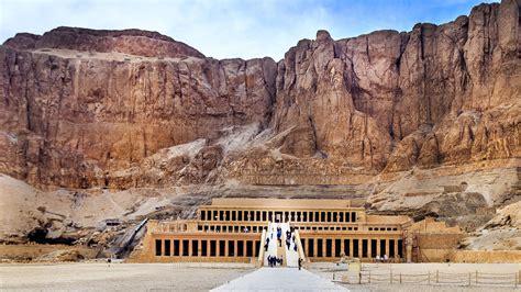 imagenes paisajes egipcios el templo de hatshepsut en egipto