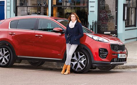 Perry Kia Commercial Feature Driving With Suzi Perry