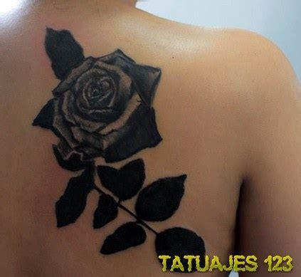 imagenes tatuajes rosas negras tatuajes de rosas negras tatuajes 123