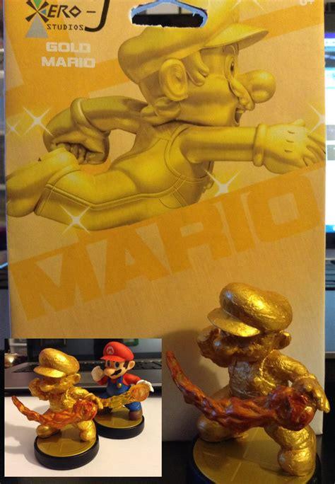 Nanas Madu By Golden Effort custom amiibo gold mario by xero j on deviantart