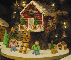 gingerbread tree house gingerbread houses pinterest
