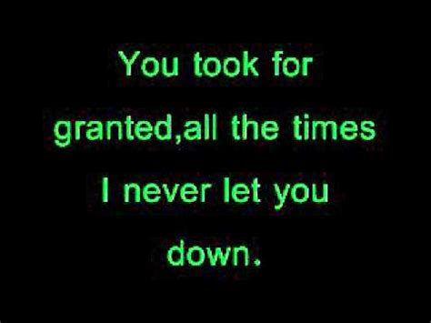 3doorsdown kryptonite lyrics