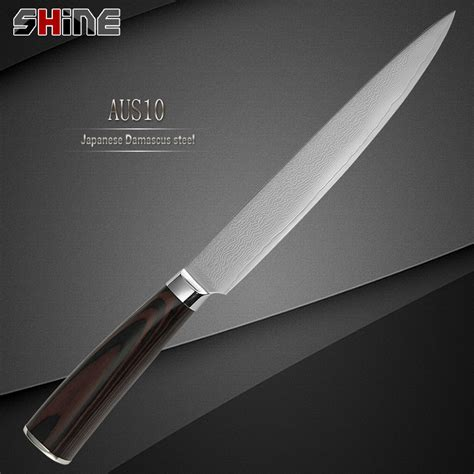 high quality stainless steel 8 inch slicing kitchen knife aliexpress com buy shine brand 8 inch kitchen slicing