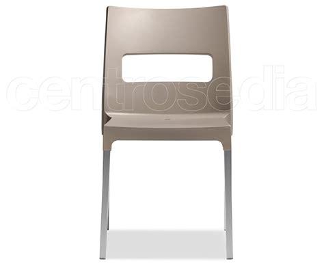 sedie alluminio design maxi sedia alluminio polipropilene sedie design