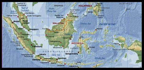 peta wilayah indonesia dan penjelasan tentang provinsi yang berbatasan dengan negara tetangga