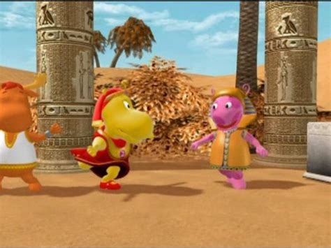 quot the backyardigans quot the key to the nile tv episode 2004