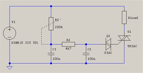 triac design application notes simple triac current limiter electrical engineering