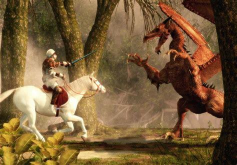 saint george and the dragon saint george and the dragon digital art by daniel eskridge