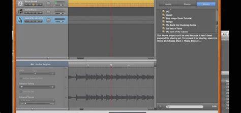 Garageband To Imovie How To Play A Song In Using Garageband And Imovie