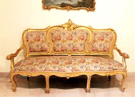 divanetti in stile divanetti stile barocco