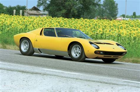 1960 Lamborghini Miura The Top 10 Sports Cars Of The 1960s