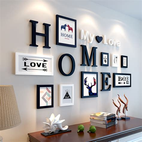 european stype home design wedding photo frame wall
