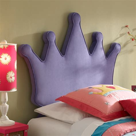 princess crown size headboard modern