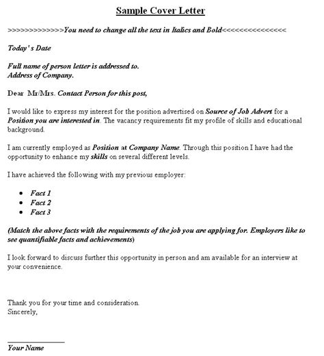 Cover Letter Format Search Application Letter For Opportunity Writefiction581 Web Fc2