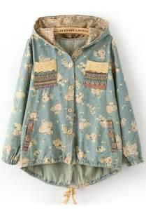 jacket sweet hippie aztec boho blue vintage