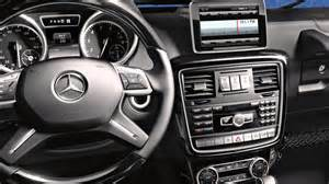 g class interior features mercedes suv