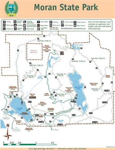 state park map park map state park