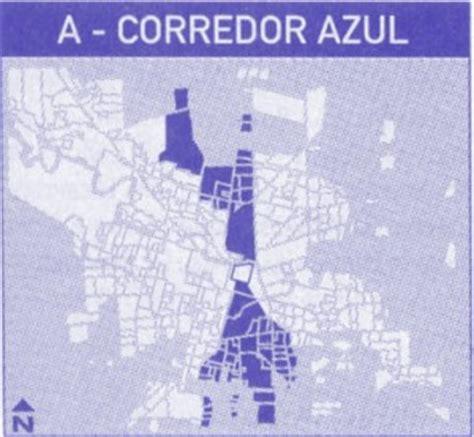 nomenclador cartografico cordoba mapa de la ciudad de recorrido del corredor azul transporte urbano de la