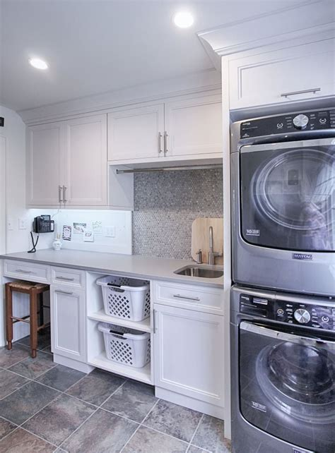 laundry room cabinets  walker woodworking