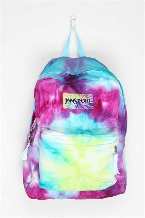 jansport diy tie dye backpack from outfitters epic