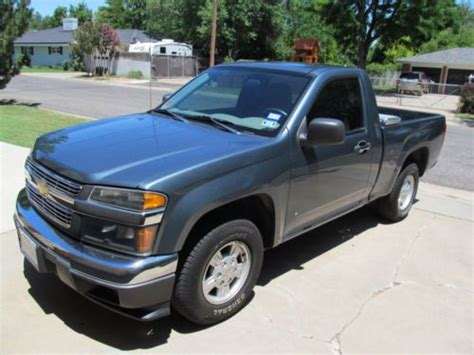 how cars run 2006 chevrolet colorado engine control sell used 2006 chevrolet colorado lt in amarillo texas united states