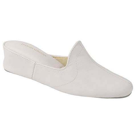daniel green bedroom slippers daniel green juniors womens white mule bedroom slippers 5m 14m