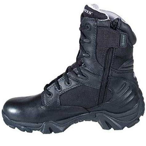 Sepatu Tactical Boots 8 Quot Bates Bates Boots Gx 8 Tex 8 Inch Zip Tactical Boot Side