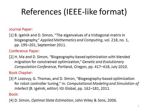 format ieee lecture 2 references and citations dan simon ppt video
