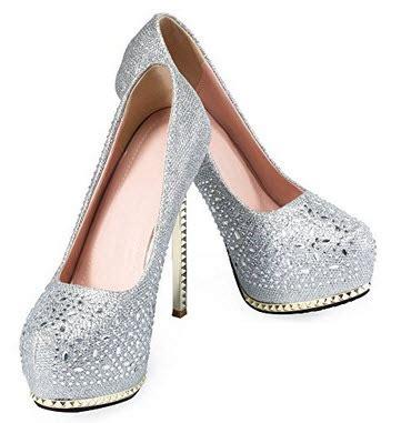 silver platform wedding shoes foregather net