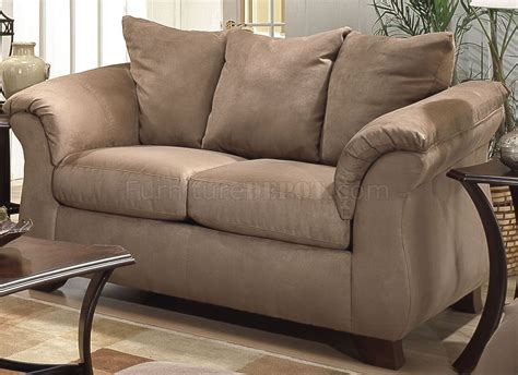 microfiber couch set camel microfiber modern sofa loveseat set w flared