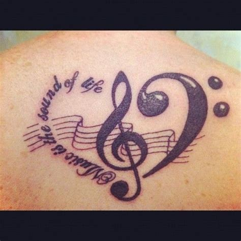 music is life tattoo designs is the sound of sooo true tattoos