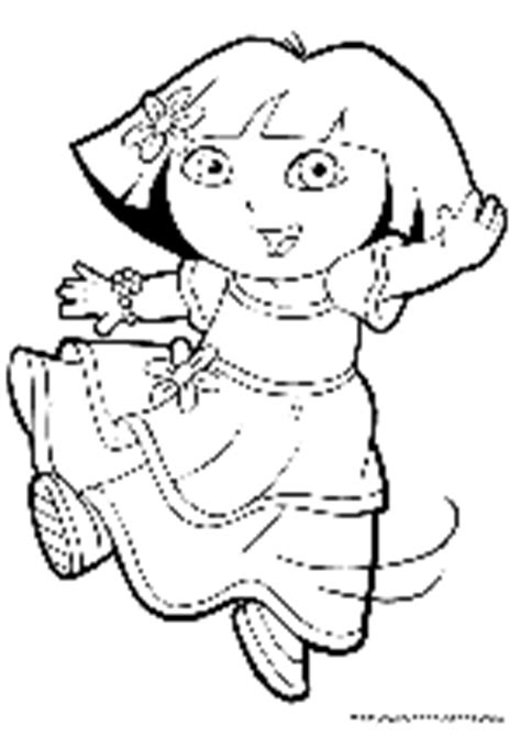 dora thanksgiving coloring page free printable dora the explorer coloring pages
