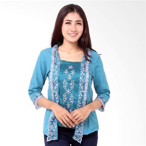 Mn6901dress Renda Htm Biru jual batik distro ba8032 renda kebaya wanita pendek biru harga kualitas terjamin