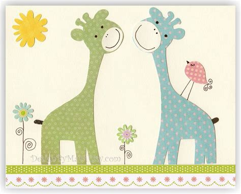 Giraffe Baby Decorations Nursery Nursery Wall Room Decor Nursery Giraffe Giraffe Nursery