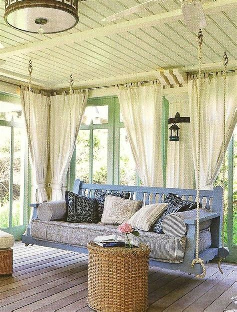 Hanging Sofa Swing by Hanging Sofa Swing 39 Relaxing Outdoor Hanging Beds For