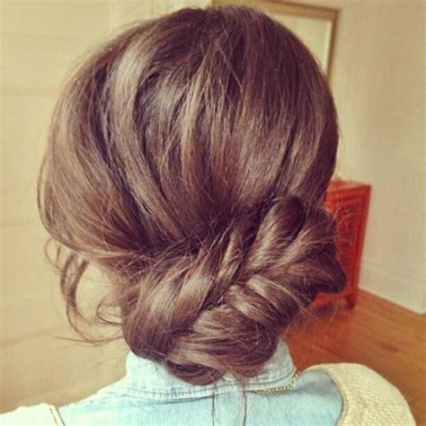 cute hairstyles like buns cute braided bun hair ideas pinterest