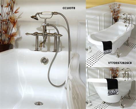 the anatomy of a bathtub the anatomy of a clawfoot tub kingston brass