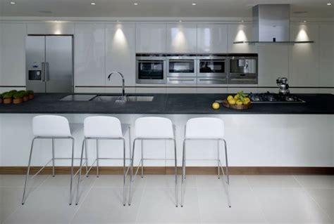 Grande Cuisine Design by 73 Id 233 Es De Cuisine Moderne Avec 238 Lot Bar Ou Table 224 Manger