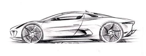 sketch book car automotive design jaguar cx 75 concept 2010 by jaguar