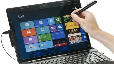 turn your windows 8 laptop into a touchscreen device with