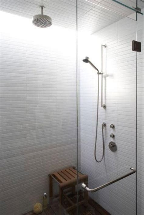 White Shower Tile by 37 White Rectangular Bathroom Tiles Ideas And Pictures