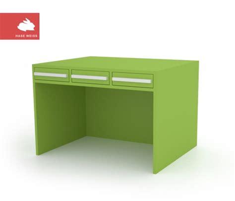 Schreibtisch Rot Lack by Schreibtisch Hase Weiss M 214 Bel Und Spiele F 220 R Kinder