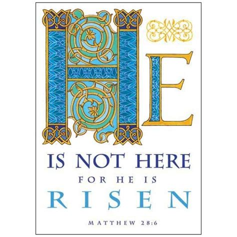catholic easter card template he is not here easter card the catholic company