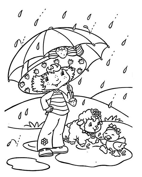 coloring pages rain az coloring pages rain coloring page coloring home
