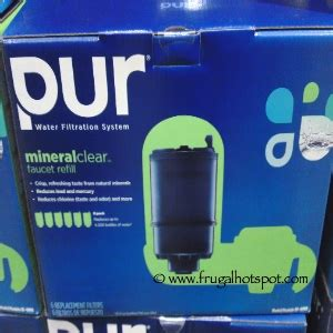 Pur Faucet Filter Coupon by Costco Sale Pur 3 Stage Faucet Mount Filters 6 Pack